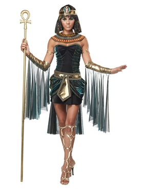 Adult Eye Candy Egyptian Goddess Costume Couples Costume