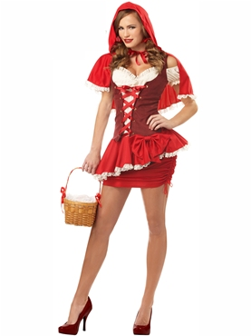 Adult Eye Candy Red Riding Hood Costume