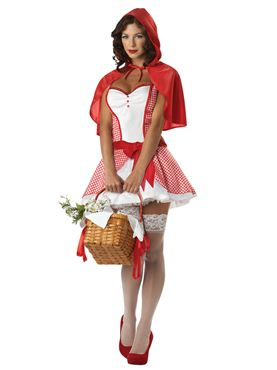 Adult Miss Red Riding Hood Costume