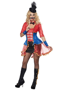Adult Ladies Ringmaster Costume
