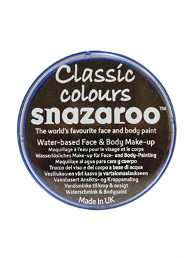 Snazaroo Face And Body Paint Black Water Based