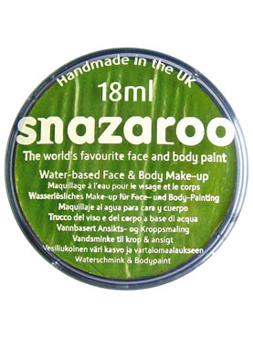 Snazaroo Lime Green Face & Body Paint