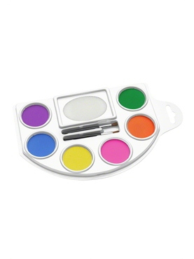 Face and Body Paint Pallet