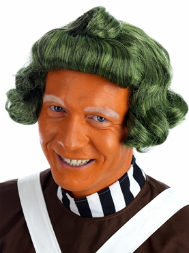 Adult Factory Worker Oompa Loompa Wig