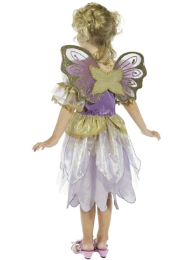Child Fairy Princess Costume - Back View