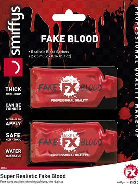 2 x Fake Blood Sachets - 5ml