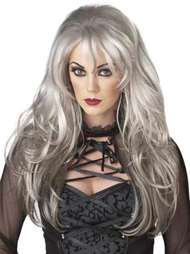 Adult Grey Fallen Angel Wig