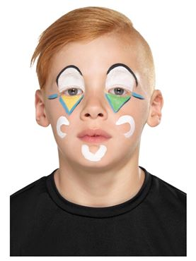 Family Clown Cosmetic Makeup Kit - Side View