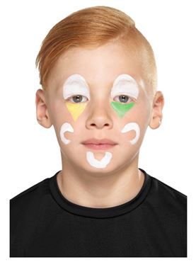 Family Clown Cosmetic Makeup Kit - Back View