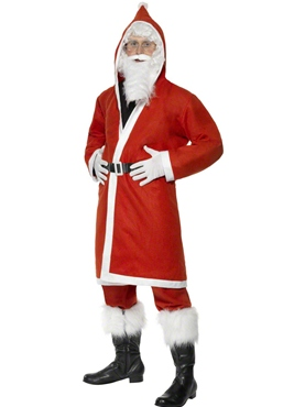 Adult Budget Father Christmas Costume