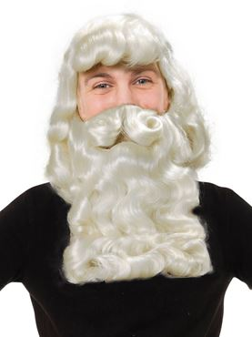 Father Xmas Wig & Beard Superior