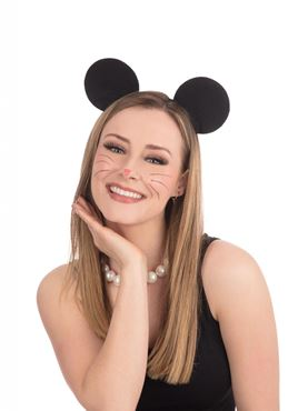 Felt Mouse Ears Black