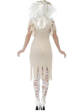 Adult Mummy Ladies Costume - Side View