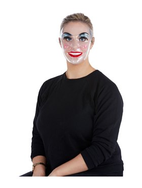Female Transparent Mask