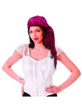 Female Velvet Pirate Bandana