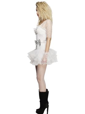Adult Fever 80's Chick Costume - Back View