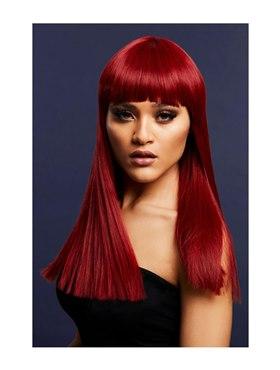 Fever Alexia Wig True Blend Ruby Red