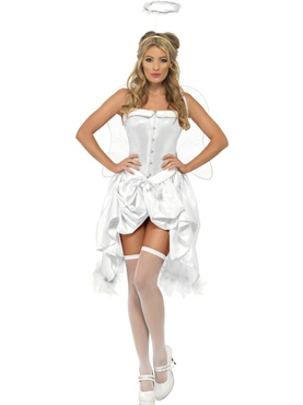 Adult Fever Angel Baby Burlesque Costume