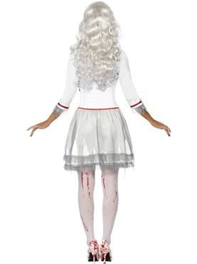 Adult Fever Blood Drip Bride Costume - Side View