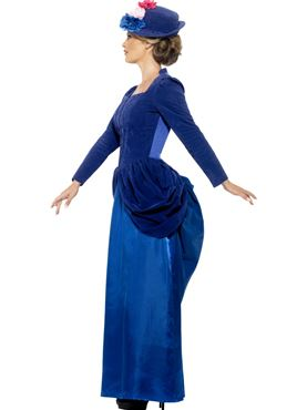 Adult Deluxe Victorian Vixen Costume - Back View