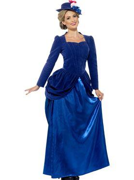 Adult Deluxe Victorian Vixen Costume Thumbnail