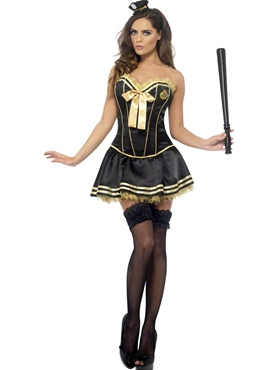 Adult Fever Boutique Cop Costume