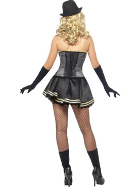 Adult Fever Boutique Gangster Costume - Side View