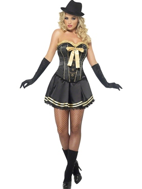 Adult Fever Boutique Gangster Costume