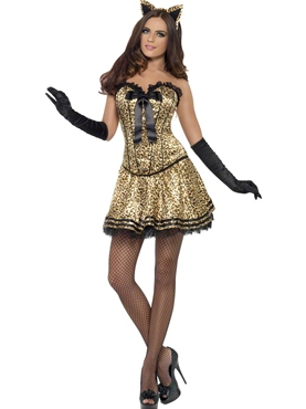 Adult Fever Boutique Kitty Costume