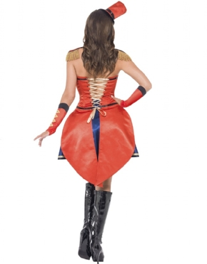 Adult Fever Boutique Ringmaster Costume - Side View