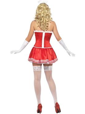 Adult Fever Boutique Nurse Costume - Side View