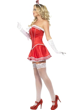 Adult Fever Boutique Nurse Costume - Back View