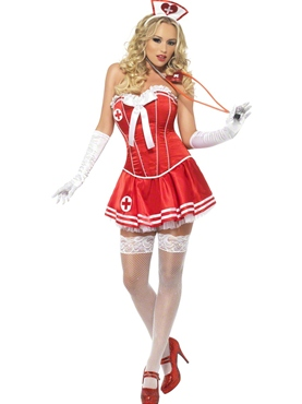 Adult Fever Boutique Nurse Costume