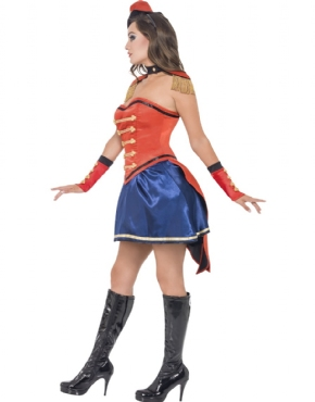 Adult Fever Boutique Ringmaster Costume - Back View