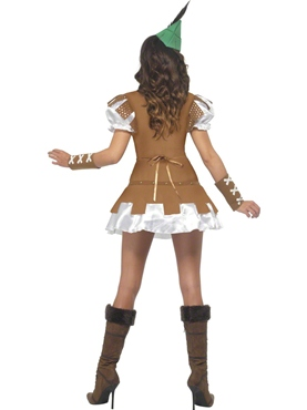 Adult Fever Boutique Sexy Robin Hood Costume - Side View