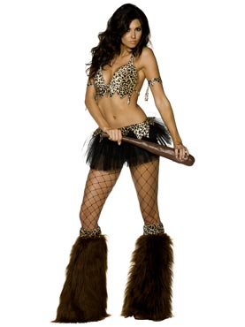 Adult Fever Cave Babe Costume