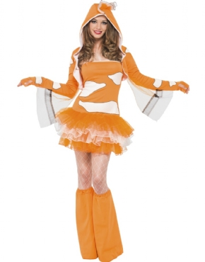 Adult Fever Clownfish Costume