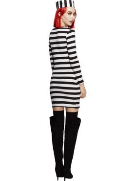 Adult Fever Convicts Costume - Side View