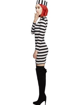 Adult Fever Convicts Costume - Back View