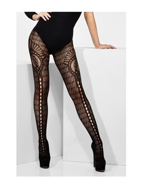 Fever Crown Crochet Tights