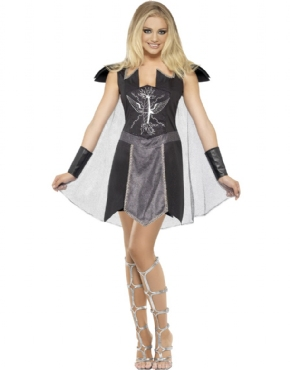Adult Fever Dark Warrior Costume