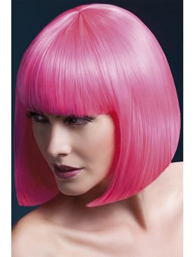 Fever Elise Wig Neon Pink