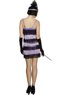 Adult Fever Flapper Costume - Side View
