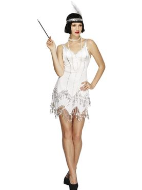 Adult Fever Flapper Dazzle Costume