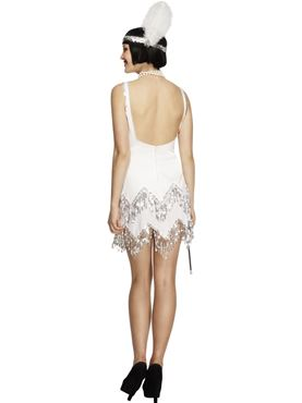 Adult Fever Flapper Dazzle Costume - Side View