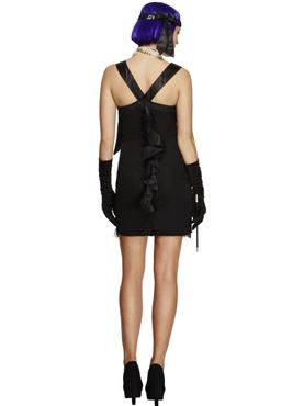 Adult Fever Foxy Flapper Costume - Side View