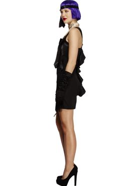 Adult Fever Foxy Flapper Costume - Back View
