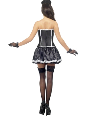 Adult Fever French Maid Costume - Side View