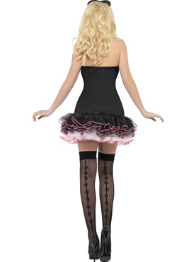 Adult Fever French Maid Fancy Costume - Side View