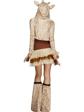 Adult Fever Giraffe Costume - Side View